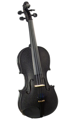 Cremona SV-130BK 42098 Violin Outfit In Black 4/4