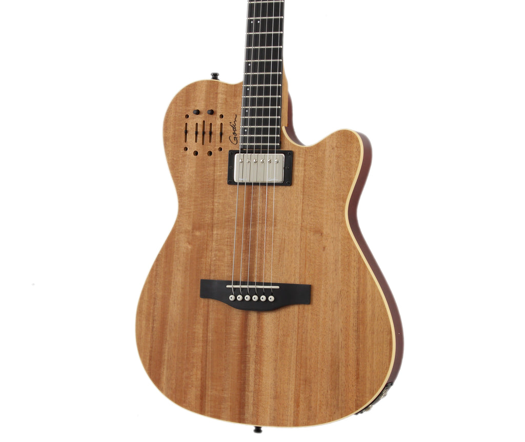 Godin A6 Ultra Limited Edition Koa High Gloss SF Acoustic Electric Guitar
