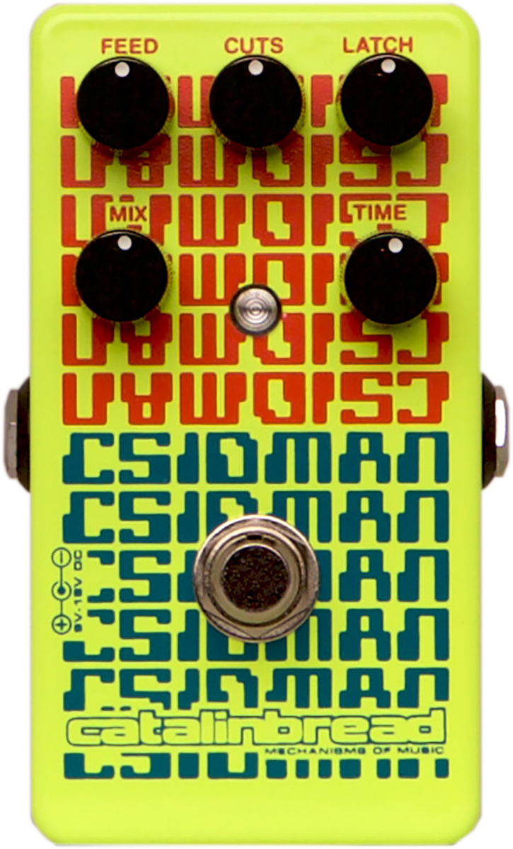 Catalinbread CSIDMAN Digital Delay Effects Pedal