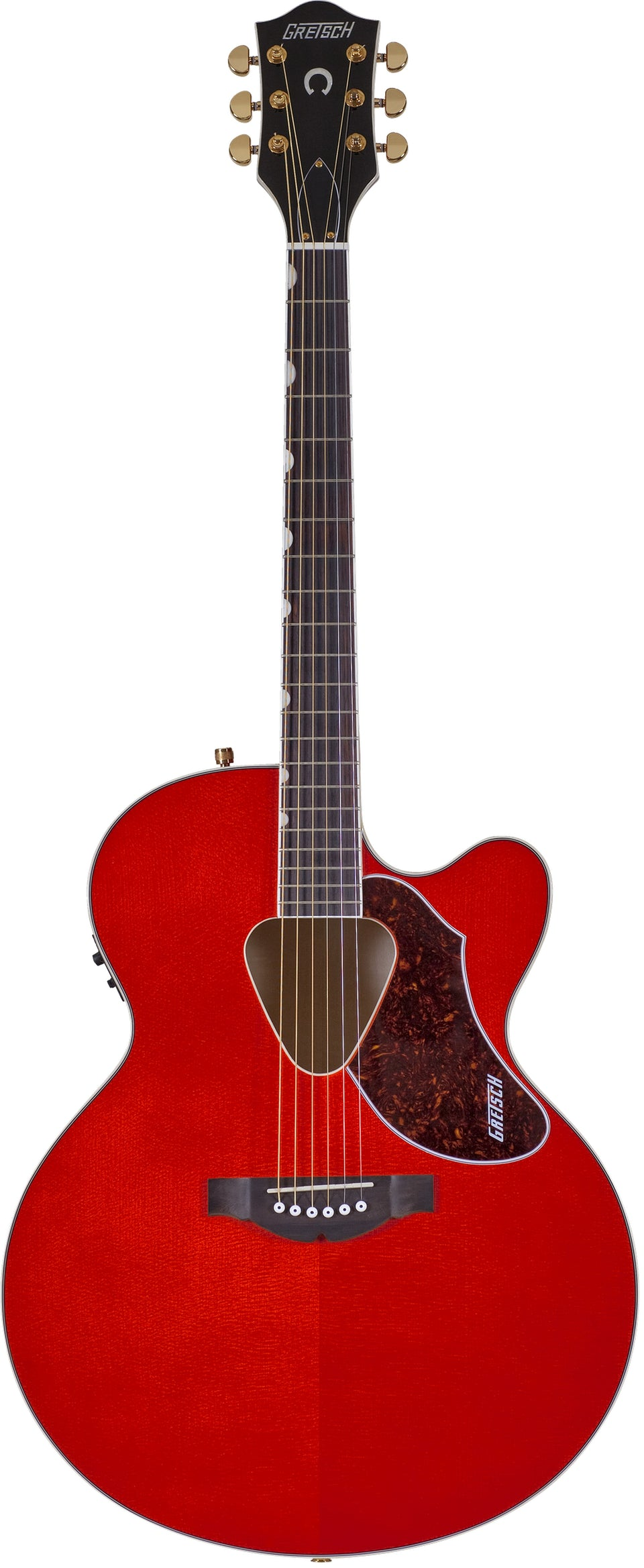 Gretsch G5022CE Rancher Jumbo Cutaway Acoustic Electric Guitar - Savannah Sunset