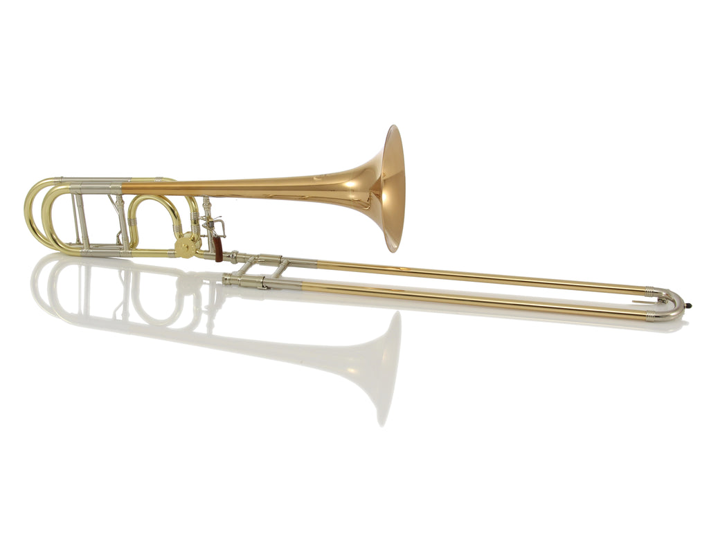 Greenhoe GC4-1R Tenor Trombone - Red Brass Bell