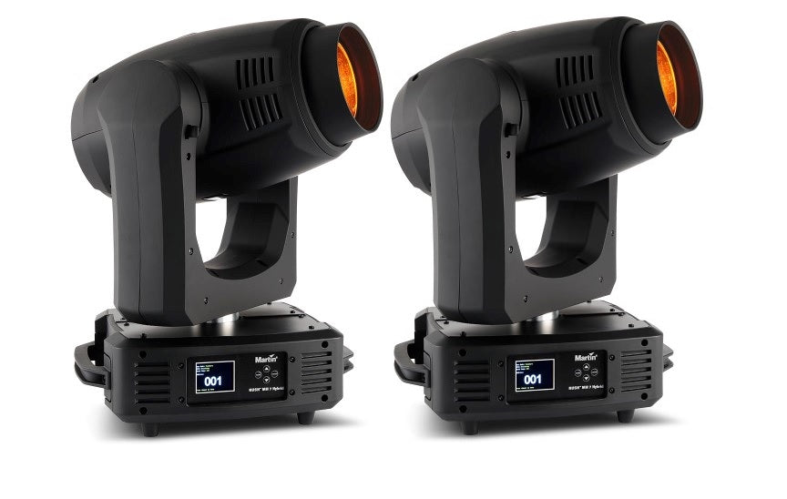 Martin Rush MH7 Hybrid All In One Beam, Spot, And Wash Moving Head (Pair) - DEMO