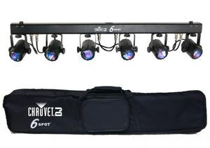 CHAUVET DJ 6SPOT LED Color-Changer System