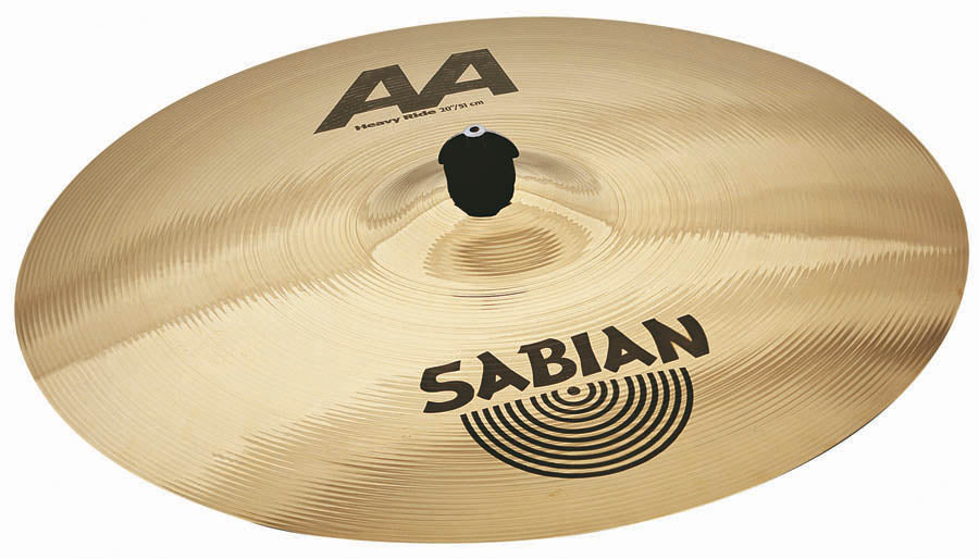 "Sabian 20"" AA Heavy Ride Cymbal Brilliant Finish"