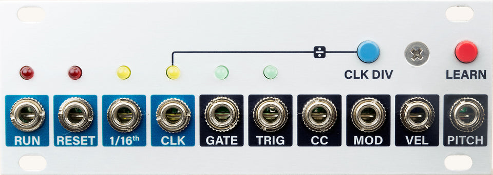 Intellijel uMIDI 1U USB/DIN MIDI Voice & Clock Interface Module