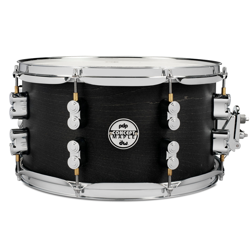 "PDP 13"" x 7"" Black Wax Maple Snare Drum"