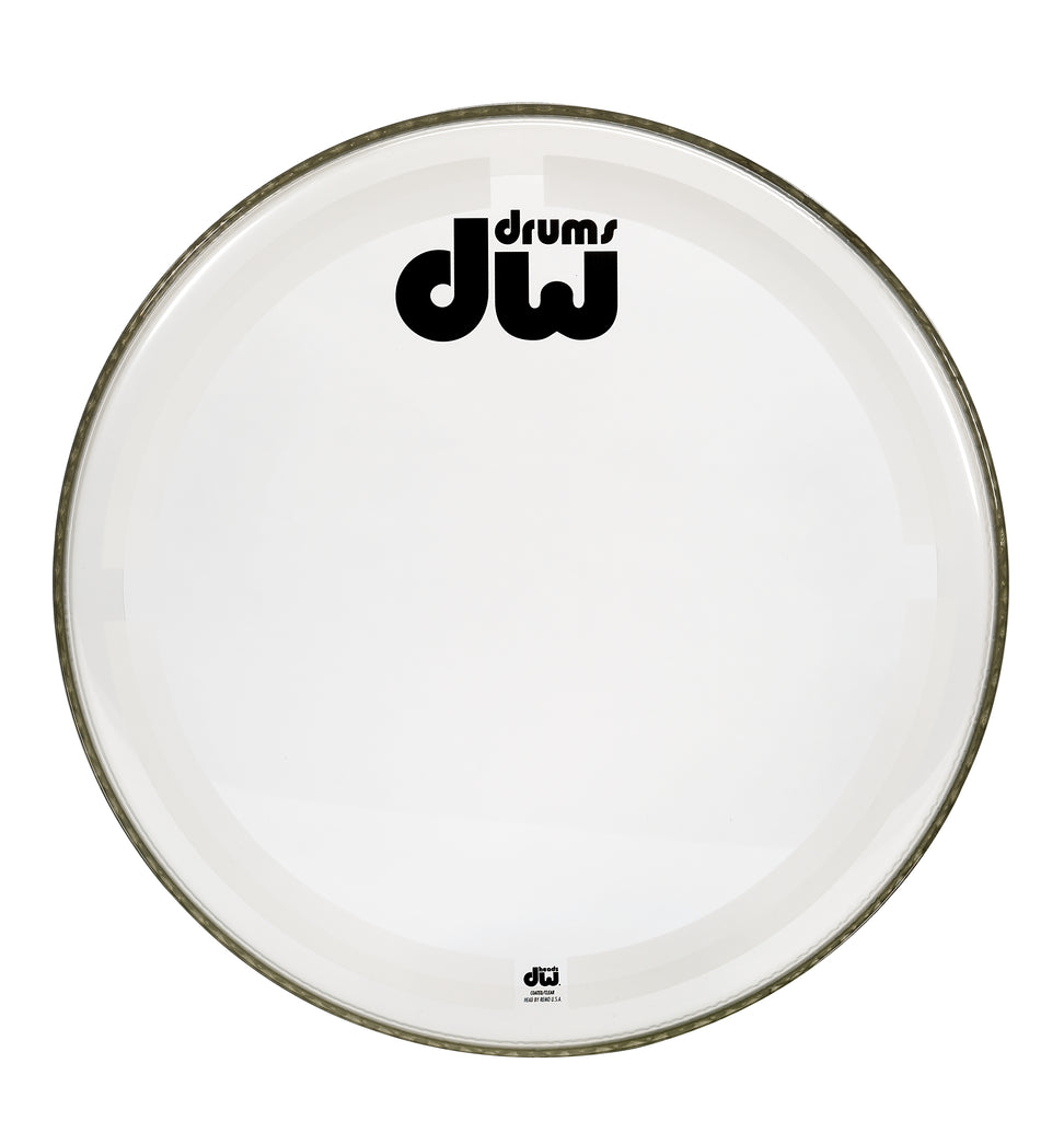 Drum Workshop 20-Inch Coated Clear Bass Drum Head