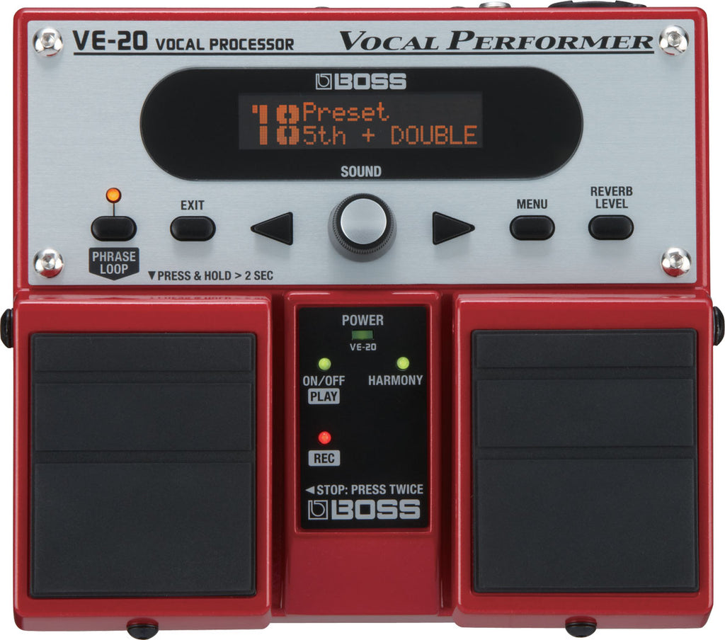 BOSS VE-20 Vocal Performer Effect Pedal