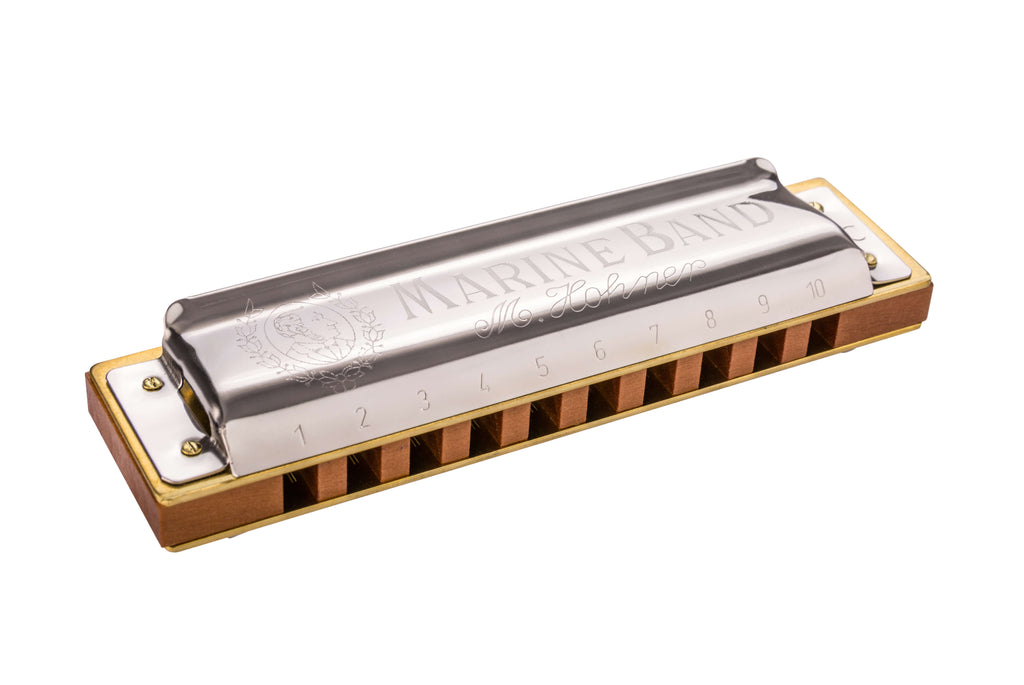 Hohner 1896BX-C# Marine Band 1896 Harmonica, Key of C Sharp