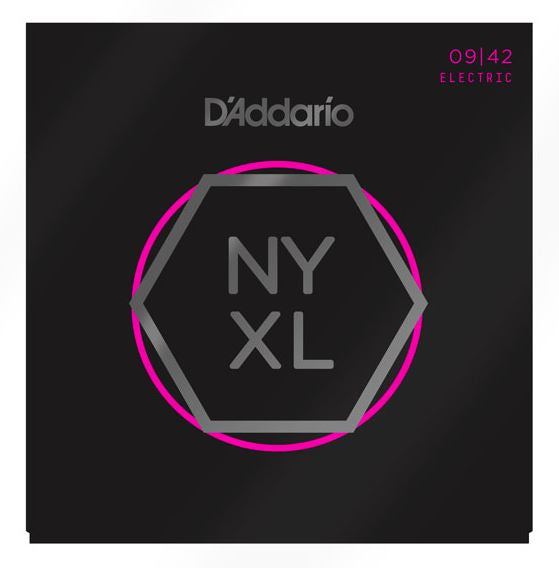 D'Addario NYXL0942 Nickel Wound Electric Guitar Strings, Super Light, 09-42