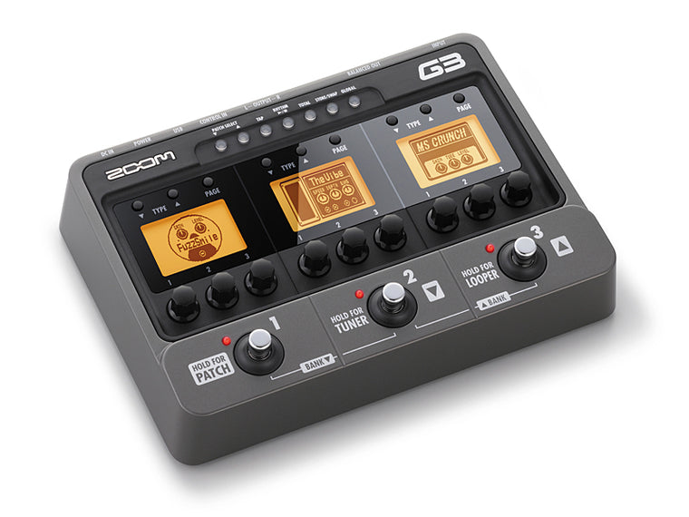 Zoom G3 USB Guitar Effects Pedal