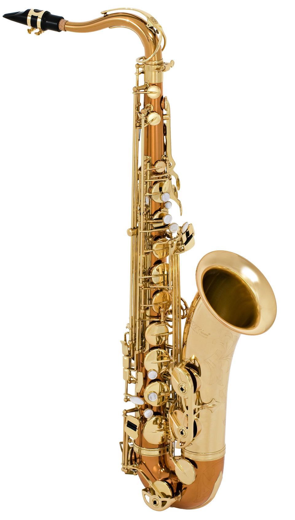 Selmer STS280RC Step-Up Model Tenor Saxophone Outfit, Copper Plated