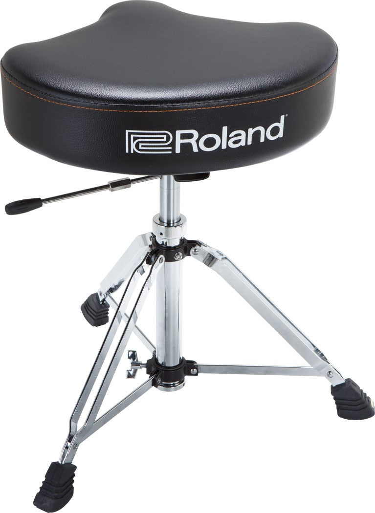 Roland Saddle Drum Throne - Vinyl Seat w/ Hydraulic Base