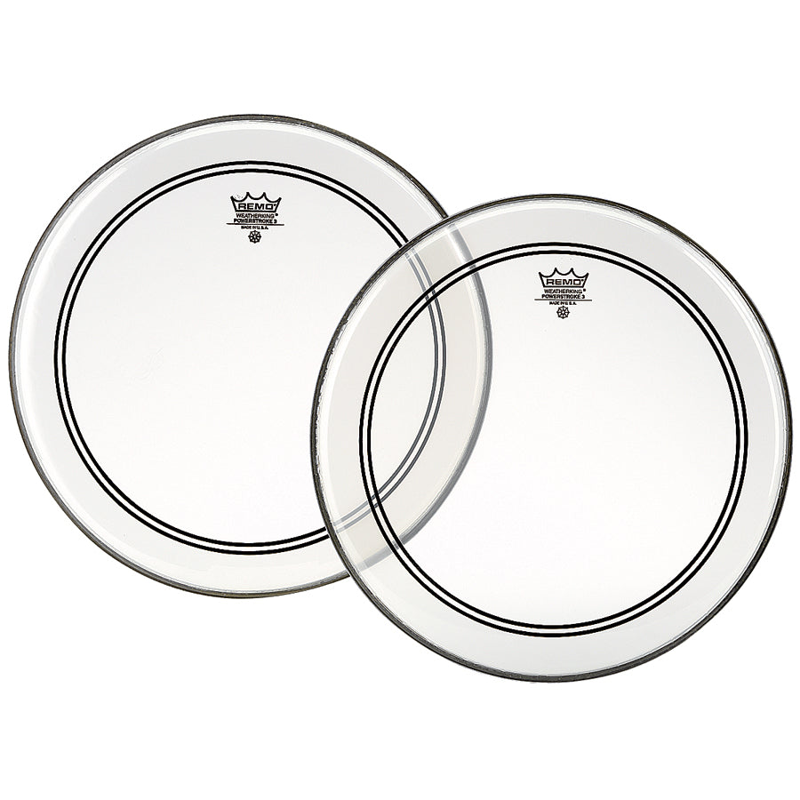 "Remo 8"" Clear Powerstroke 3 Drum Head"