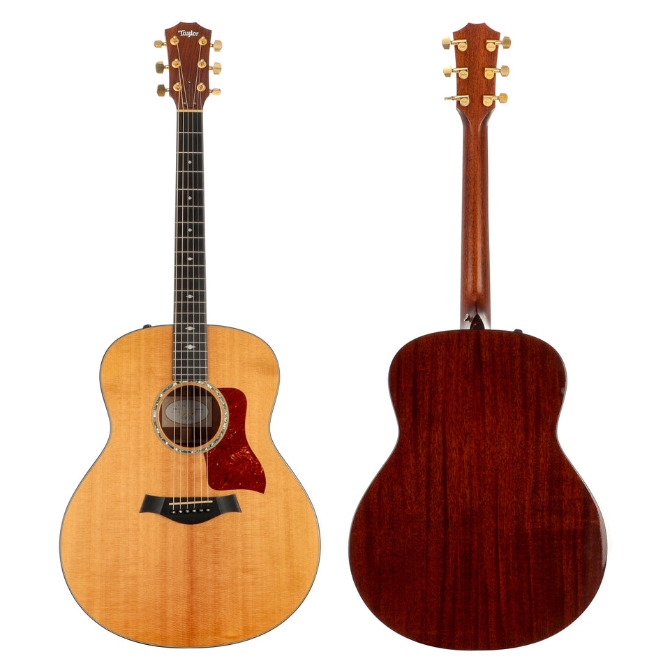 Taylor 2013 518e 1st Edition Transitional Grand Orchestra Guitar - Transitional Inlays