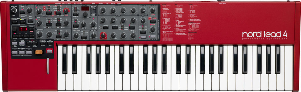 Nord Lead 4 49 Key Performance Synthesizer