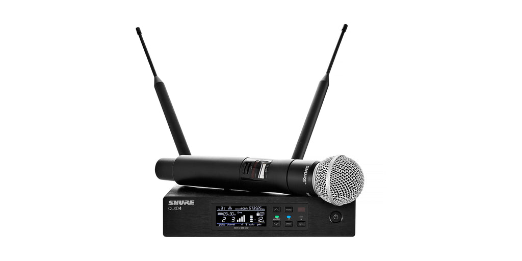 Shure QLXD24/SM58 Handheld Wireless System W/ SM58 Microphone - H50 Band