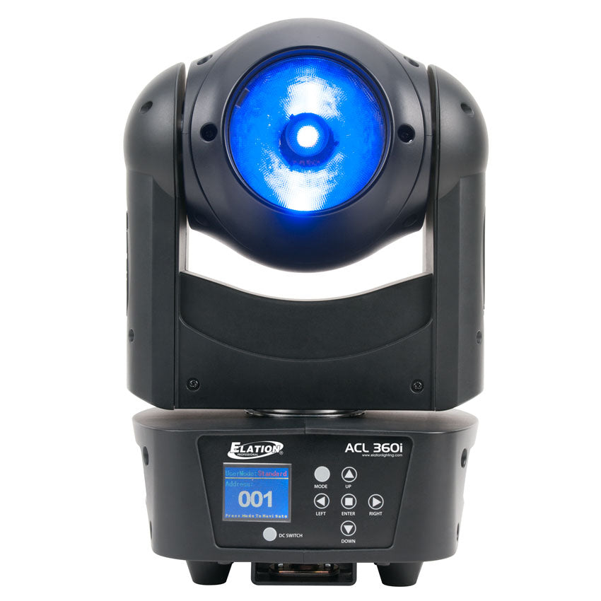 Elation ACL 360i 60W RGBW 4 In 1 LED Moving Head Light