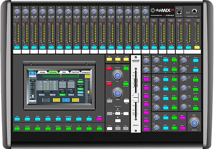 Ashly digiMIX24 Tabletop Digital Mixing Console