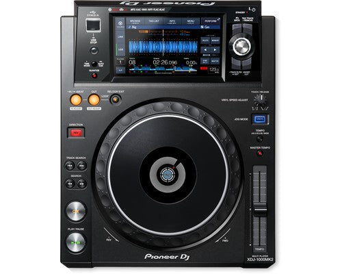 "Pioneer XDJ-1000MK2 Performance Digital Multiplayer - 7"" Touchscreen"