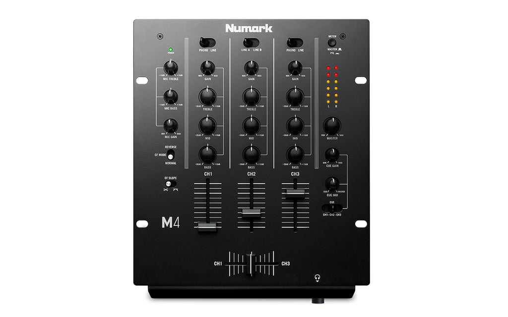 Numark M4 3 Channel Scratch DJ Mixer