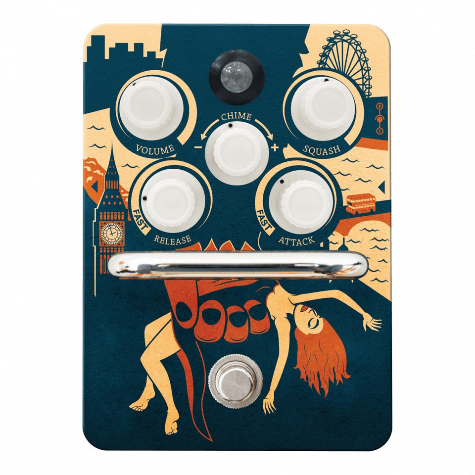Orange Kongpressor Compressor Guitar Pedal