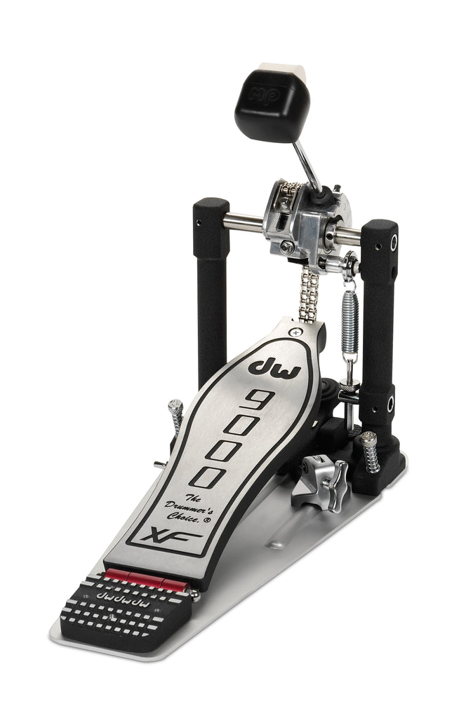 Drum Workshop DWCP9000XF 9000 Series Bass Pedal W/ Extended Footboard
