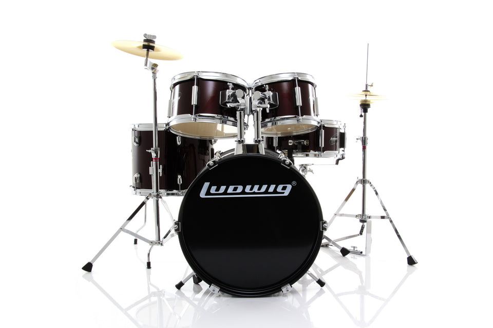 Ludwig Junior 5 Piece Complete Drum Set