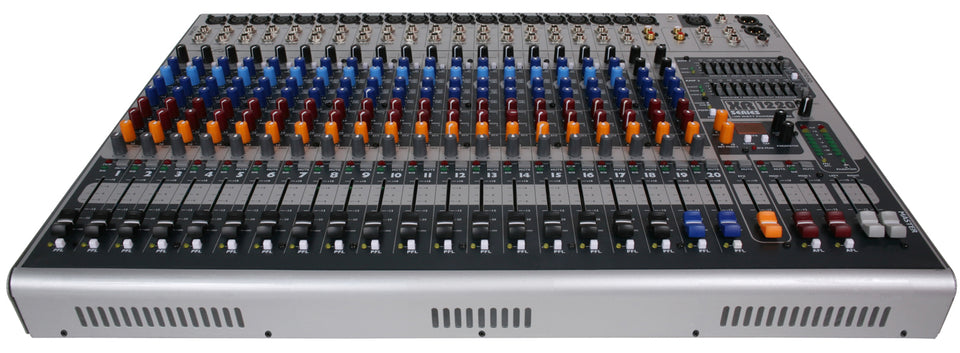 Peavey XR1220P Dual 600W 20-Channel Console Style Mixer/Amplifier