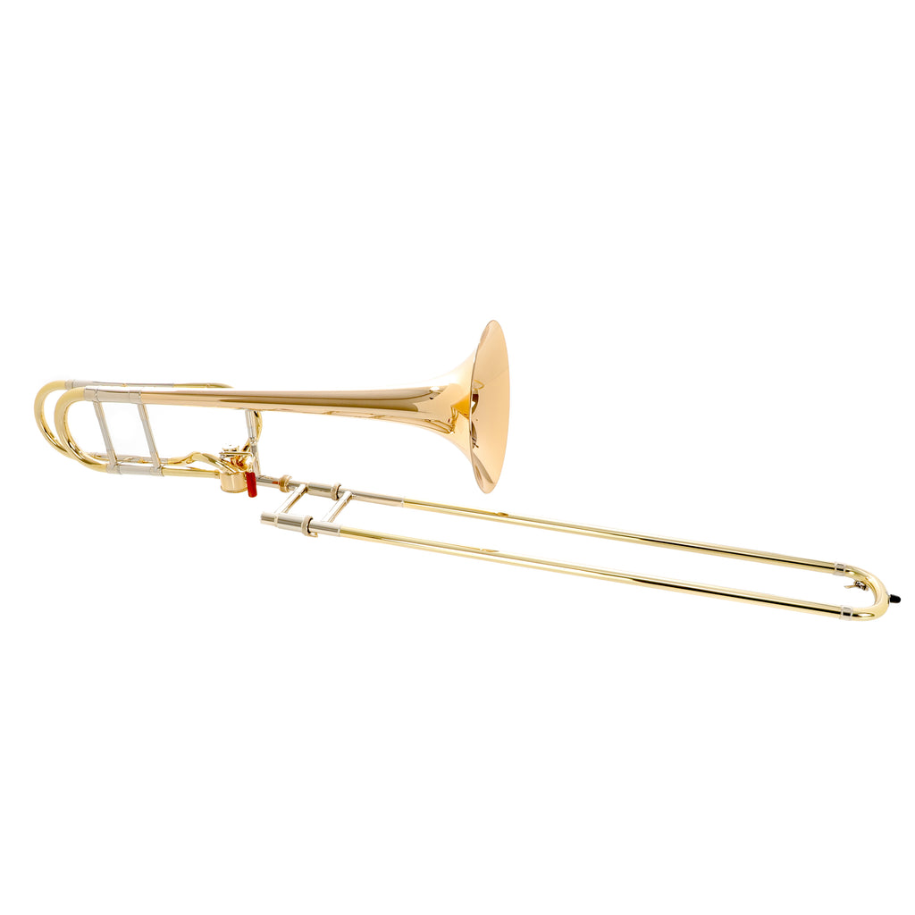 Bach 42AG Stradivarius Professional Model Tenor Trombone Outfit w/ Gold Brass Bell