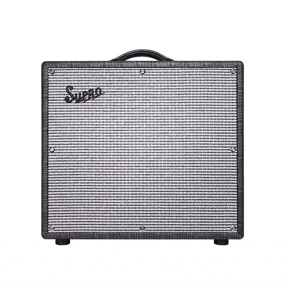 "Supro 1696RT Black Magick Reverb 1x12"" 25W Combo Amplifier"