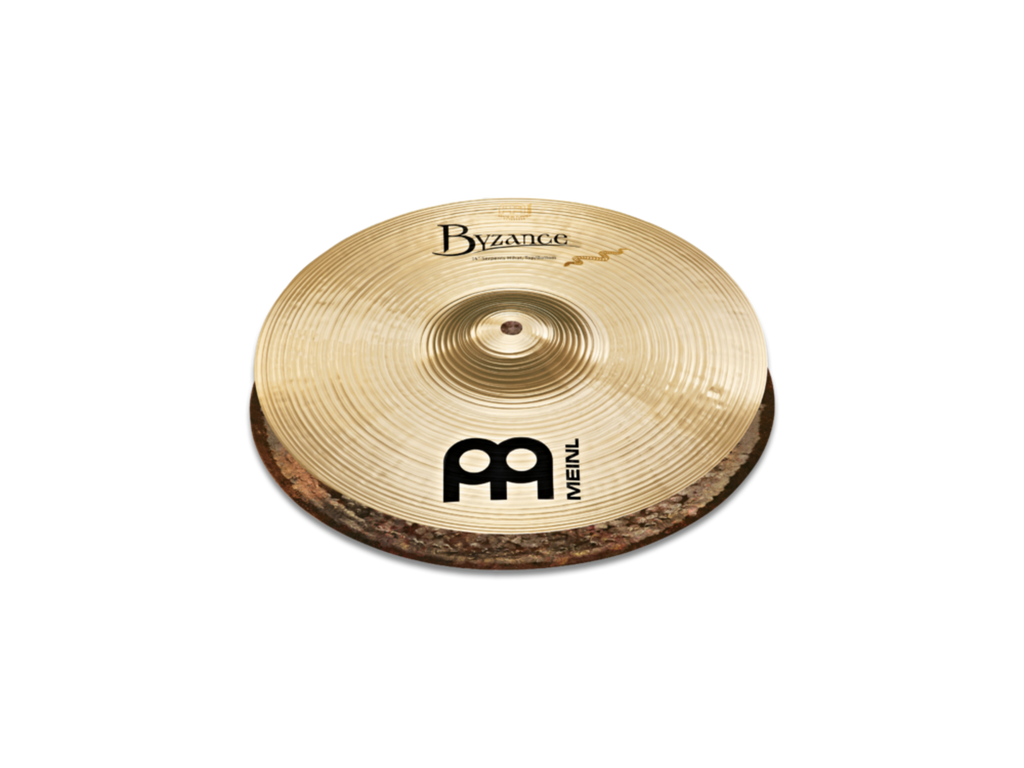 "Meinl 13"" Byzance Brilliant Serpents Hi-Hat Cymbals"