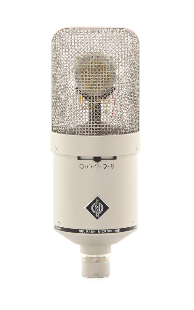 Neumann M 149 Tube Nine Pattern Vocal Microphone W/ N149A, EA170, KT8 & Case - Nickel