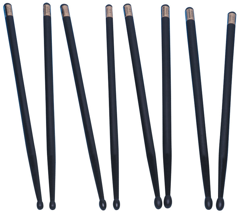 "Aquarian L5B Lites Formula X-10 16"" Graphite Drum Sticks"