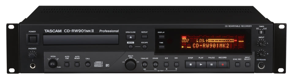 Tascam CD-RW901 MKII CD Recorder / Player