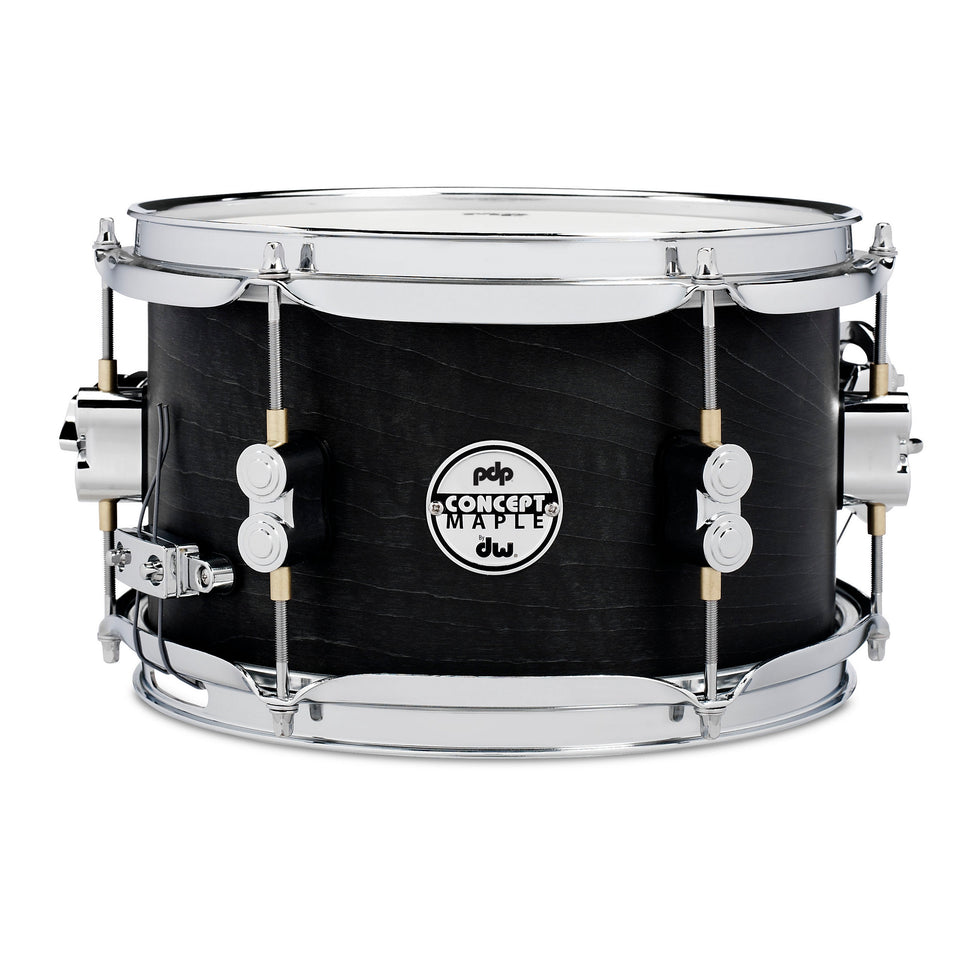 "PDP 10"" x 6"" Black Wax Maple Snare Drum"