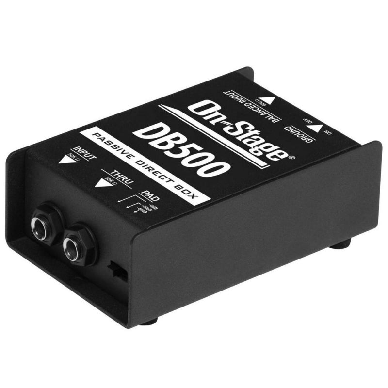 On-Stage Cables DB500 Passive Direct Box