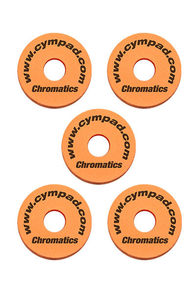 Cympad Chromatics Cymbal Enhancer Set - 40/15mm, Orange
