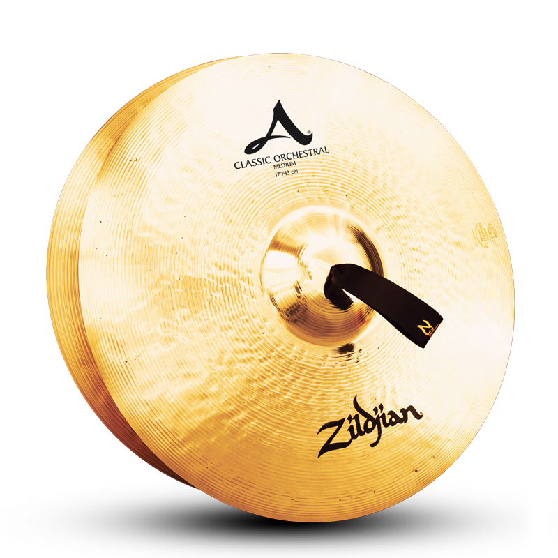 "Zildjian 17"" A Classic Orchestral Selection Medium Cymbals - Pair"