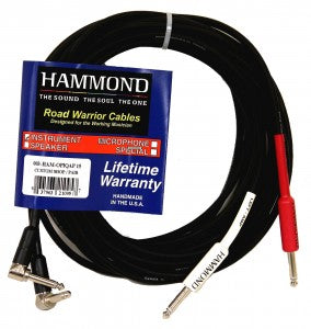 Hammond 15 Foot Quad Instrument Cable