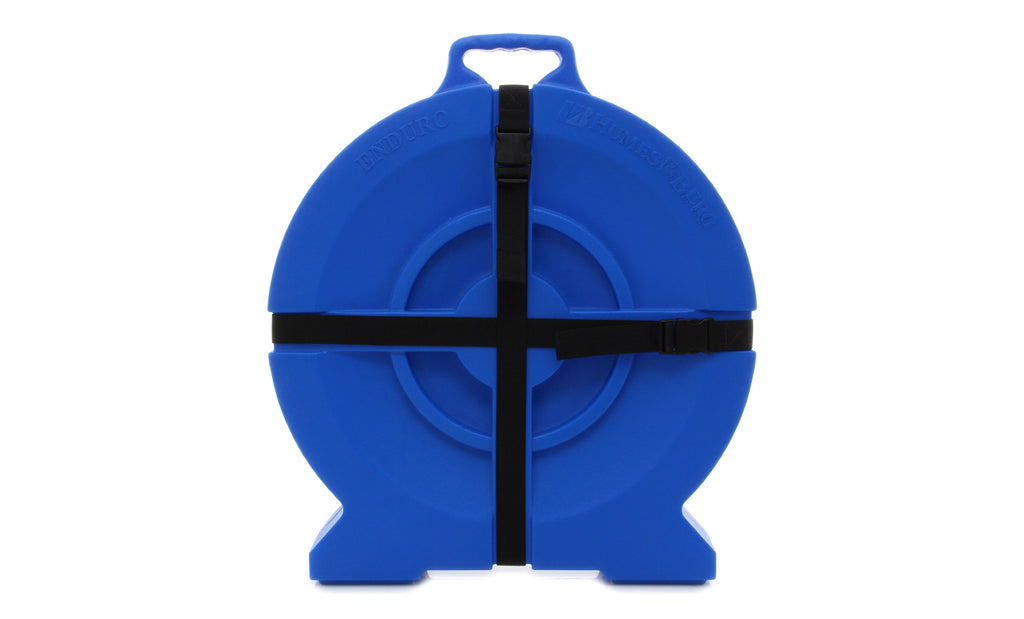 "Humes & Berg DR526ZBL 22"" Enduro Cymbal Case - Blue"