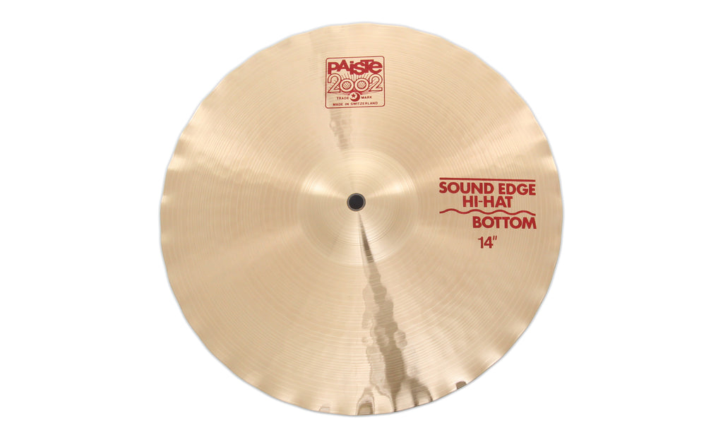 "Paiste 14"" 2002 Sound Edge Hi-Hat Bottom Cymbal"