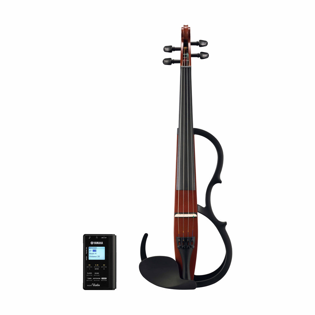 Yamaha SV-150BR Silent Practice Plus Violin - Brown