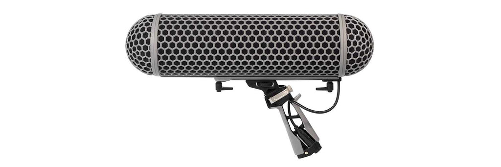 Rode BLIMP Wind Shield and Shock Mount System For Shotgun Microphones
