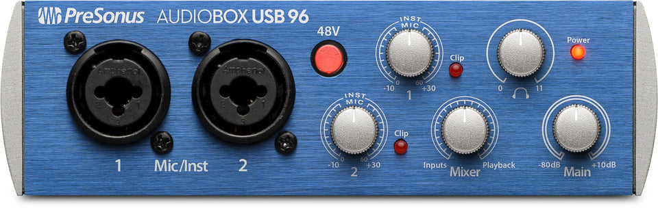 Presonus AudioBox USB 96 2x2 USB 2.0 Audio Interface