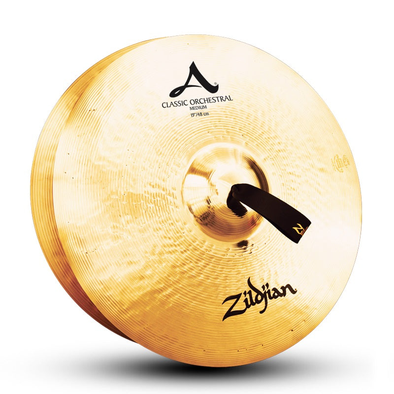 "Zildjian 19"" A Classic Orchestral Selection Medium Cymbals, Pair"