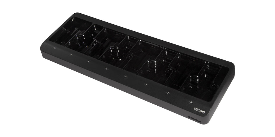 Shure SBC840-US Eight-Bay Networked Charging Station