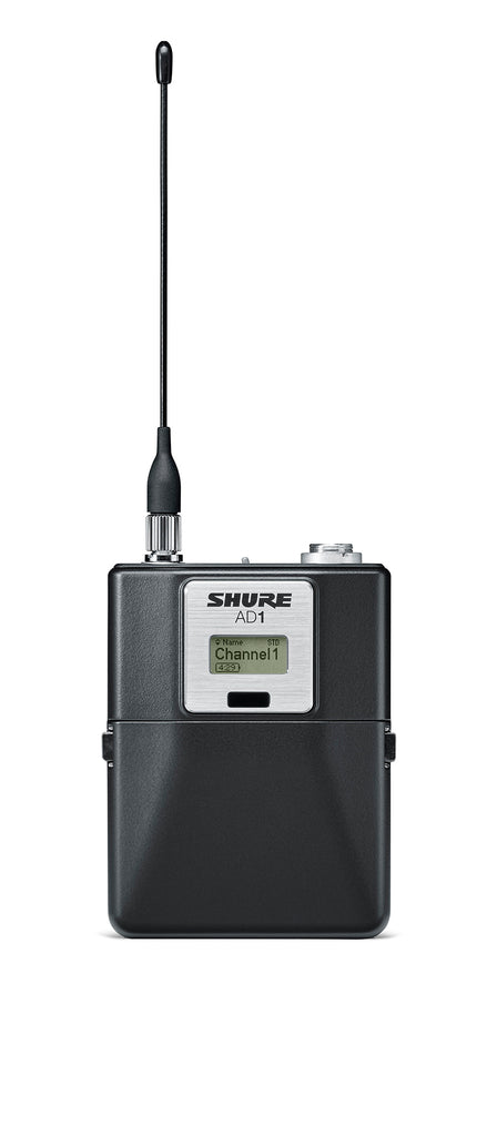 Shure AD1 Axient Digital Bodypack Wireless Transmitter - LEMO3 Connector