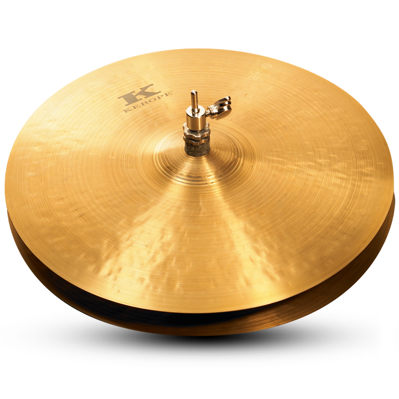 "Zildjian 14"" KEROPE Hi-Hat Cymbal Bottom"