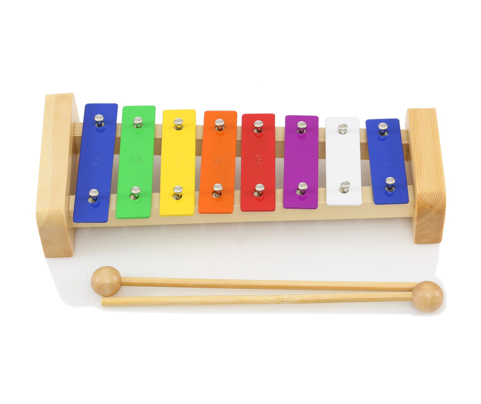 Stagg META-K8 Metallophone W/ 8 Color-Coded Keys